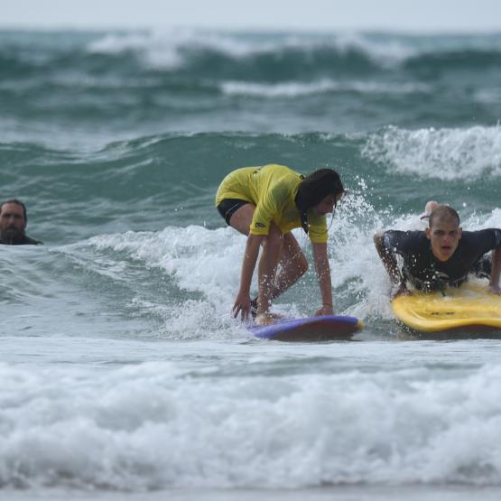 cours de surf handi