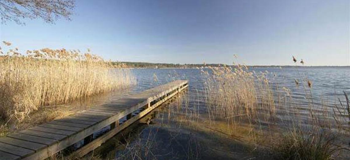 Ponton lac