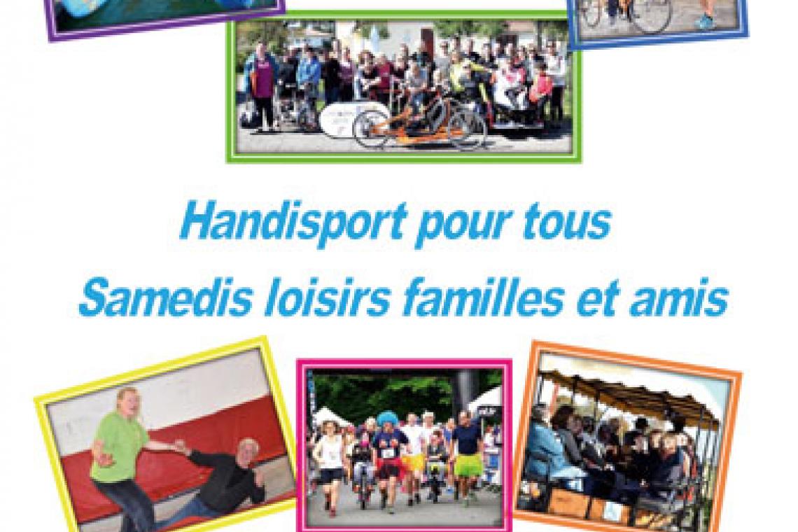 Calendrier des samedis Loisirs Familles et amis Handisport 2019