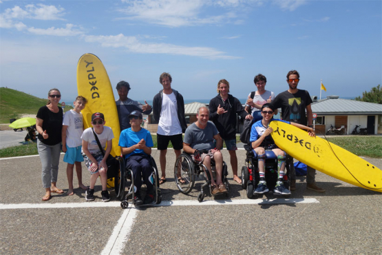les jeunes riders, Eki, Tom, Lorenzo, Hoan